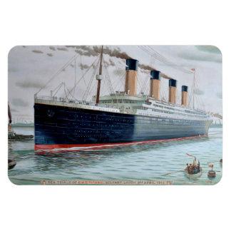 Sea Trials of RMS Titanic Vinyl Magnets