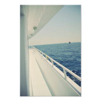 Sea trip photo print