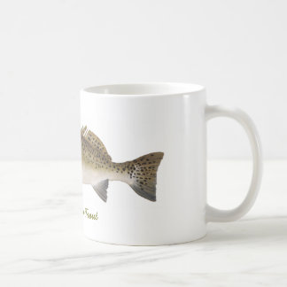 SEA TROUT,  Spotted Sea Trout Coffee Mugs