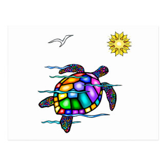 Sea Turtle #1 Postcard