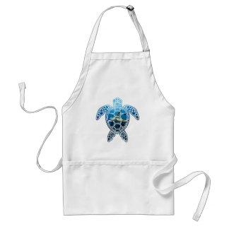 sea turtle-2 adult apron