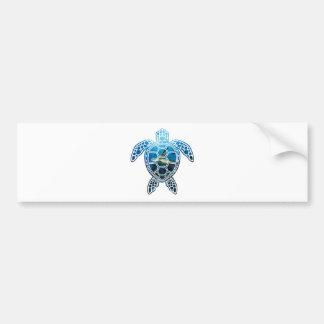 sea turtle-2 bumper sticker