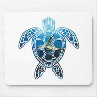 sea turtle-2 mouse pad