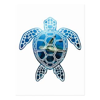 sea turtle-2 postcard