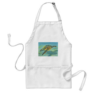 Sea Turtle Adult Apron