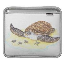 Sea Turtle and Babies Sleeve For iPads
