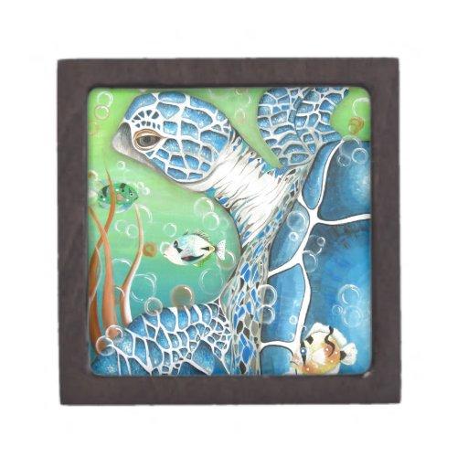 Sea Turtle and Fish Premium Gift Box
