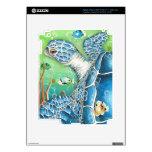 Sea Turtle and Fish Skin For iPad 3
