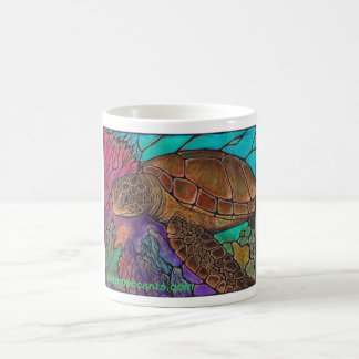 Sea Turtle Art...awesome stained glass style! Mugs
