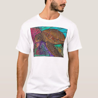 Sea Turtle Art...awesome stained glass style! T-Shirt