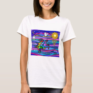 Sea Turtle (blue / pink) T-Shirt