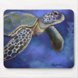 Sea Turtle Blues Mousepad