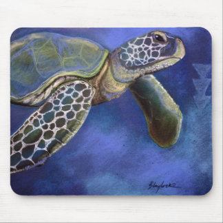 Sea Turtle Blues Mousepad