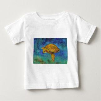 Sea Turtle by Paula Atwell Baby T-Shirt