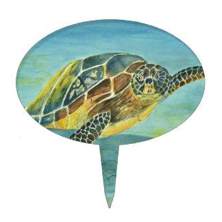 Sea Turtle Cake Topper