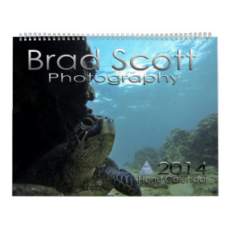 Sea Turtle Calendar by Brad Scott Photography