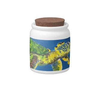 Sea Turtle Candy Jars