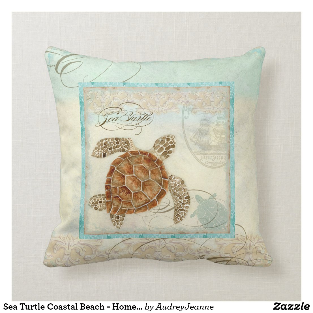 Tender Heart Character Pillow Beach Home Decor Pillow