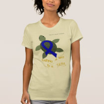Sea Turtle Colorectal Cancer Support Shirt