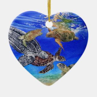 Sea Turtle Customizable Ornament