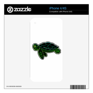 Sea Turtle Decals For iPhone 4S