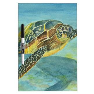 Sea Turtle Dry Erase Board