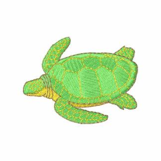 Sea Turtle Embroidered Hooded Sweatshirts