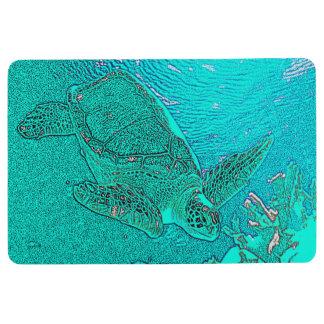 Sea Turtle Floor Mat