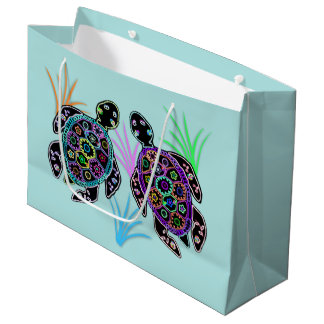 Sea Turtle Gift Bags Large Gift Bag
