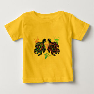 Sea Turtle Glow Baby T-Shirt