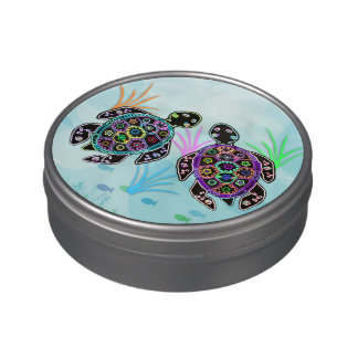 Sea Turtle Glow Jelly Belly Tins