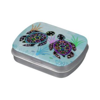 Sea Turtle Glow Candy Tins