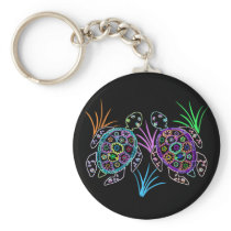 Sea Turtle Glow Keychain