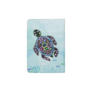 Sea Turtle Glow Passport Holder