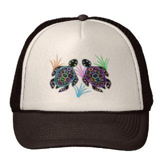 Sea Turtle Glow Trucker Hat