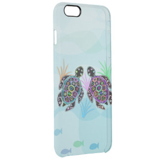 Sea Turtle Glow Uncommon Clearly™ Deflector iPhone 6 Plus Case