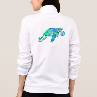 Sea Turtle Graphic Jacket