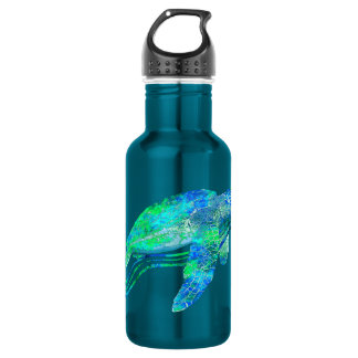 Sea Turtle Graphic Stainless Steel Water Bottle