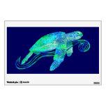 Sea Turtle Graphic Wall Sticker