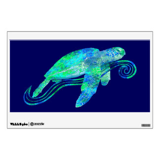 Sea Turtle Graphic Wall Sticker