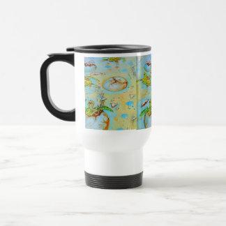 Sea Turtle Hatchlings Travel Mug