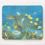 sea turtle hawaii mouse pad