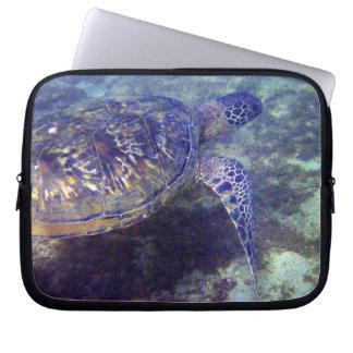 sea turtle Hawaiian Honu Electronics Bag Laptop Computer Sleeve