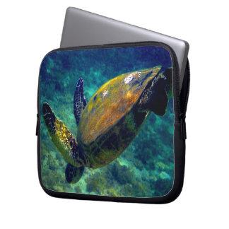 sea turtle Hawaiian Honu Electronics Bag Laptop Computer Sleeves