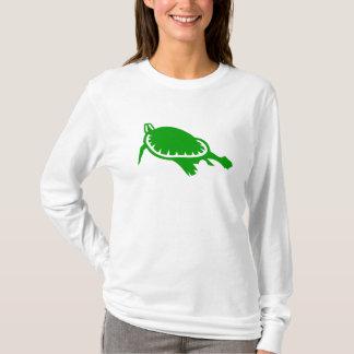 Sea Turtle in Green T-Shirt