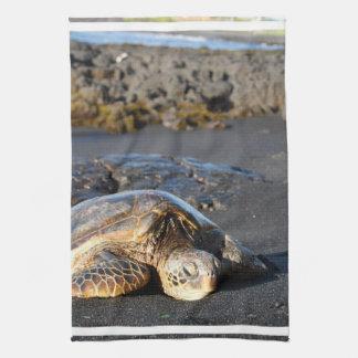 Sea Turtle Kitchen Towel