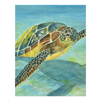 Sea Turtle Letterhead