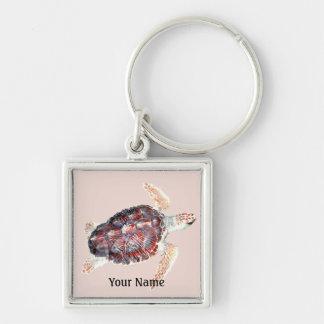 Sea Turtle Loggerhead Keychain