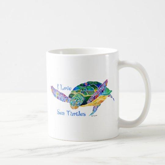 Sea Turtle Love a Turtle Coffee Mug