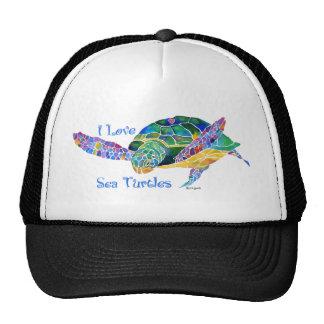 Sea Turtle Love a Turtle Trucker Hat
